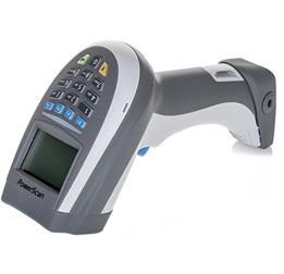 PowerScan PM9500 Retail ~ 16 Keys, White, Left Facing