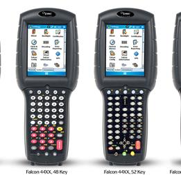 Falcon 4400 Key Pad Options