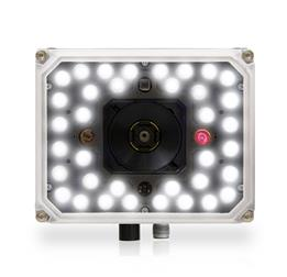 Matrix 320 ~ 36 white LEDS, white front, front facing with 1 red light
