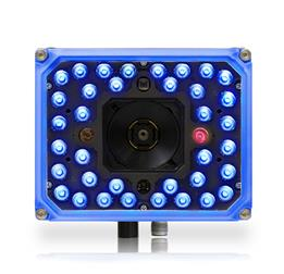 Matrix 320 ~ 36 blue LEDs, front facing with blue front and 1 red light