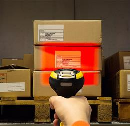 Powerscan AR Warehouse with red light