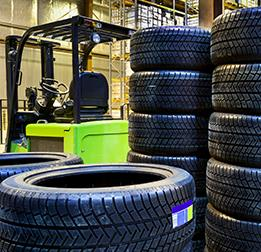 Tires Sorting & Shipping