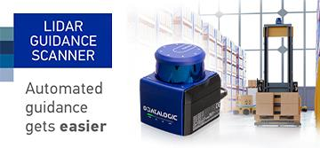 Datalogic launches the Lidar Guidance Scanner, the most compact navigation system on the market