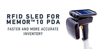 Faster and more accurate inventory with the new powerful 2128P RFID Sled from Datalogic