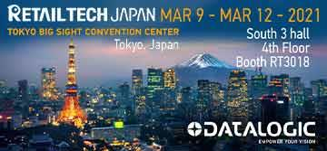 Datalogic showcases the latest technologies at RETAILTECH JAPAN 2021