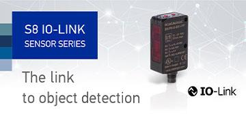 The new S8 IO-Link sensors enhance detection and reduce total cost of ownership