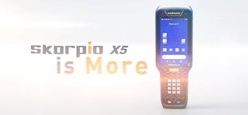 Datalogic launches the new Skorpio™ X5, the most advanced key-based mobile computer