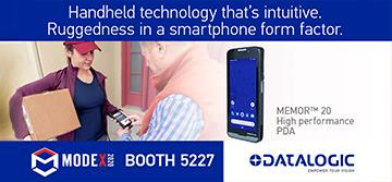 Datalogic Debuts the Memor™ 20 Industrial PDA at MODEX 2020