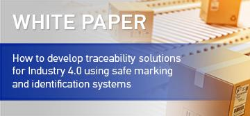 How to develop traceability solutions for Industry 4.0 using safe marking and identification systems