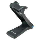 QuickScan Lite QW2100 Upright Stand, Black, Left Facing