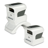 Gryphon I GPS4400 2D - White, Left Facing without Stand