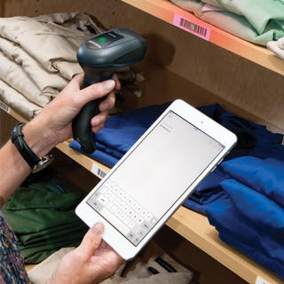 QuickScan QBT2400, Retail with Tablet
