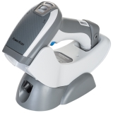PowerScan PBT9500 Retail ~ In Charger, White, Left Facing