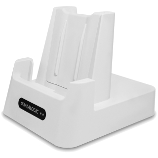 Memor 10 HC ~ White Single Slot Dock, Left Facing