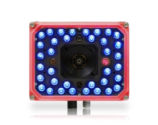 Matrix 320 ~ Front facing, red front, 36 blue LEDS, 1 red lite