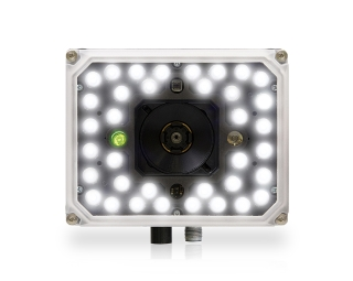 Matrix 320 ~ Front facing, white front, 36 white LEDs, 1 green lite
