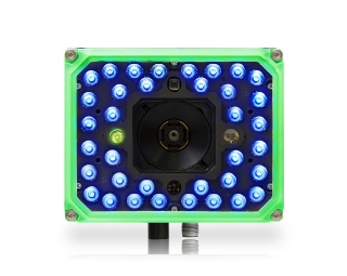 Matrix 320 ~ Front facing, green front, 36 blue LEDs, 2 green