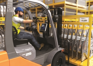 SD9030 - PowerScan - Rhino II ~ Forklift Solution