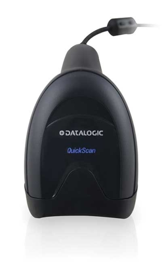 QuickScan QD2500, Black, top view