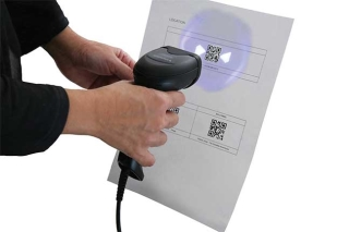 QuickScan QD2500, reading barcode2