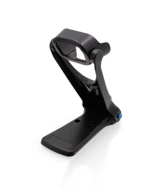 QuickScan QD2500, Collapsible stand, Black, left facing