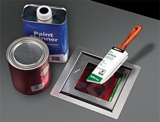 Magellan 3300HSi, Paint Supplies