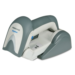 Gryphon I GM4100, White, Left Facing, Cradle Down