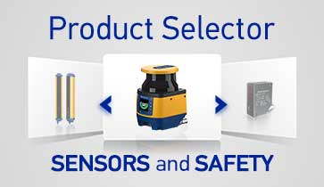 Product Selector Sensori e Dispositivi Sicurezza