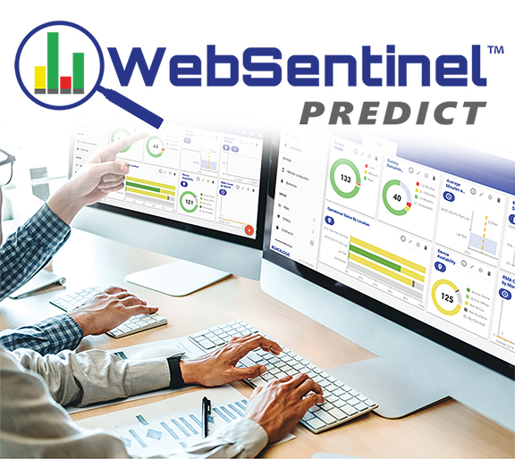 WebSentinel Predict with Logo