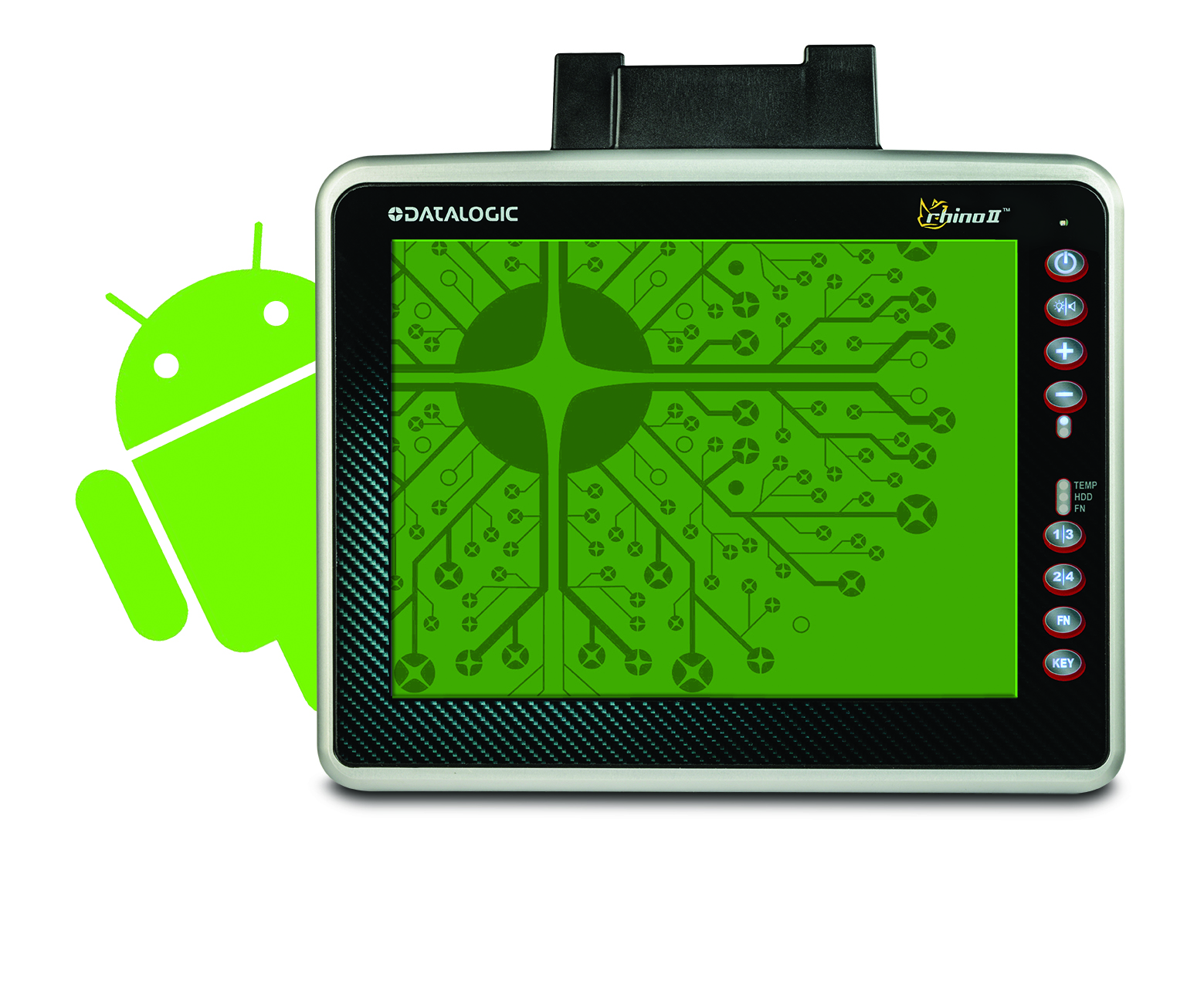 Rhino II with Android