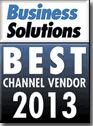 Best Channel Vendor 2013