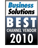 Best Channel Vendor 2010