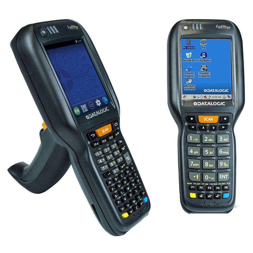 Datalogic Falcon X3 Barcode Scanner Mobile Computer Wireless Plus With charger